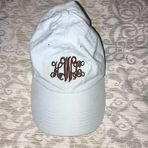 Marley Lilly monogram cap